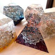 プラトン立体オルゴナイト
