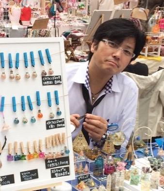 オルゴナイト作家伊藤道人