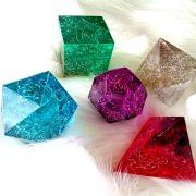 プラトン立体<5個> オルゴナイト