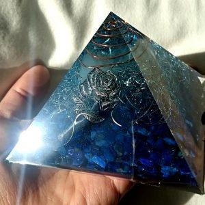 ビラミッドオルゴナイトブルー